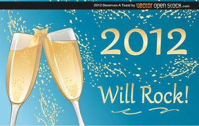 2012 merece um brinde