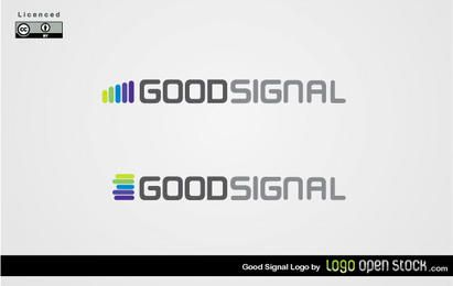 Bom sinal Logo Vector