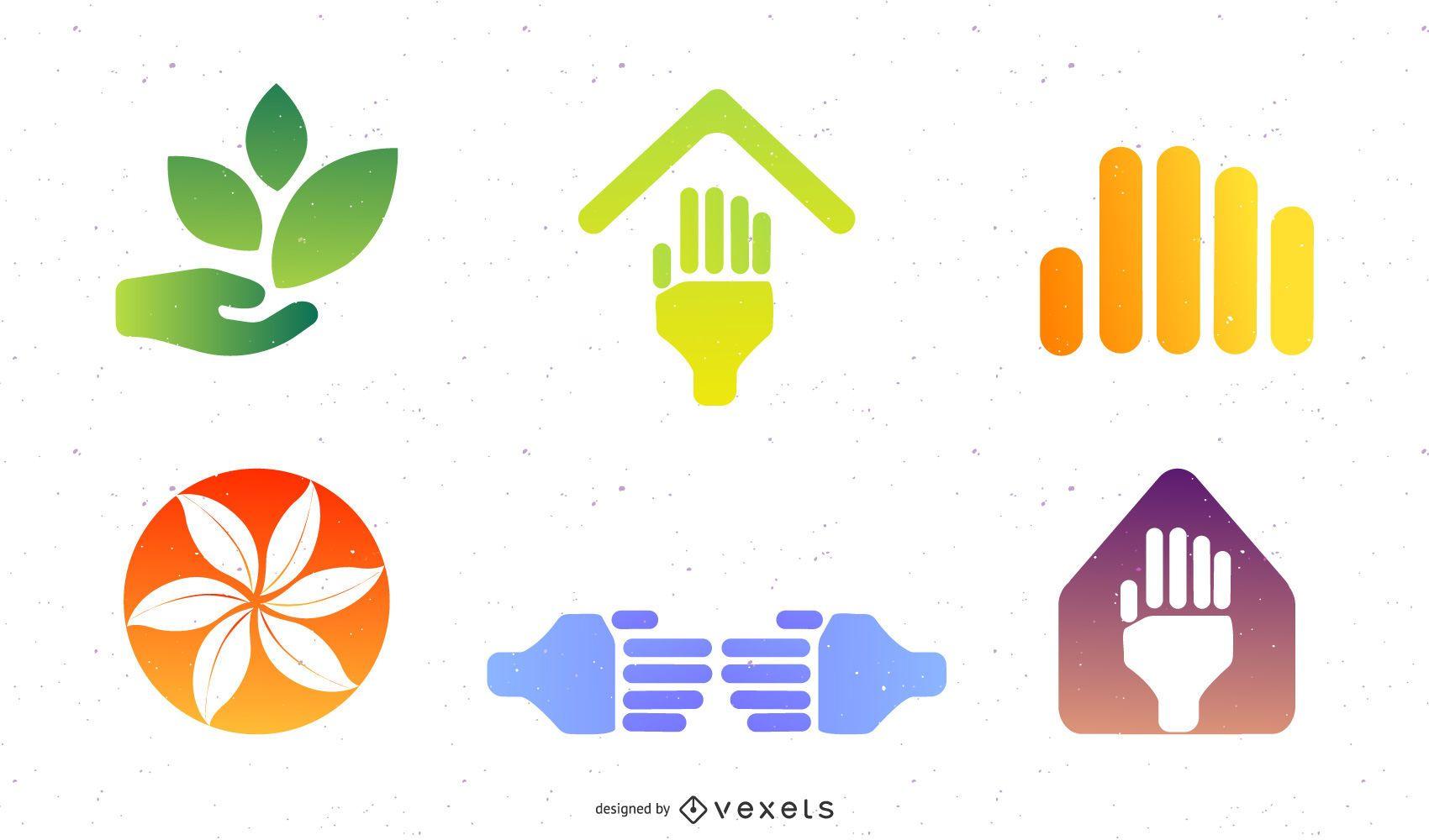 Sehr nützliche Vektorsymbole für Designer!