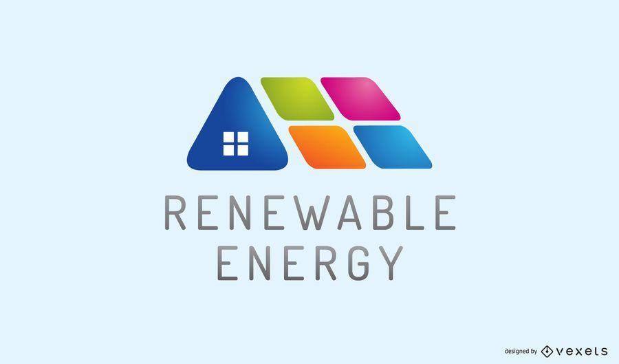 Logotipo de energía renovable