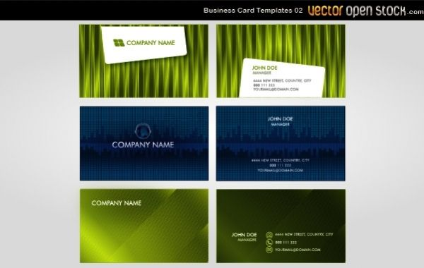 Vector Business Cards 02