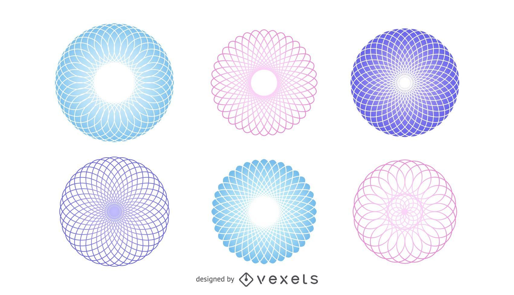 Polygonal Spheres Vector