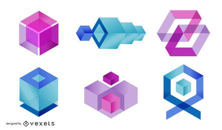 4 geometrische Figuren