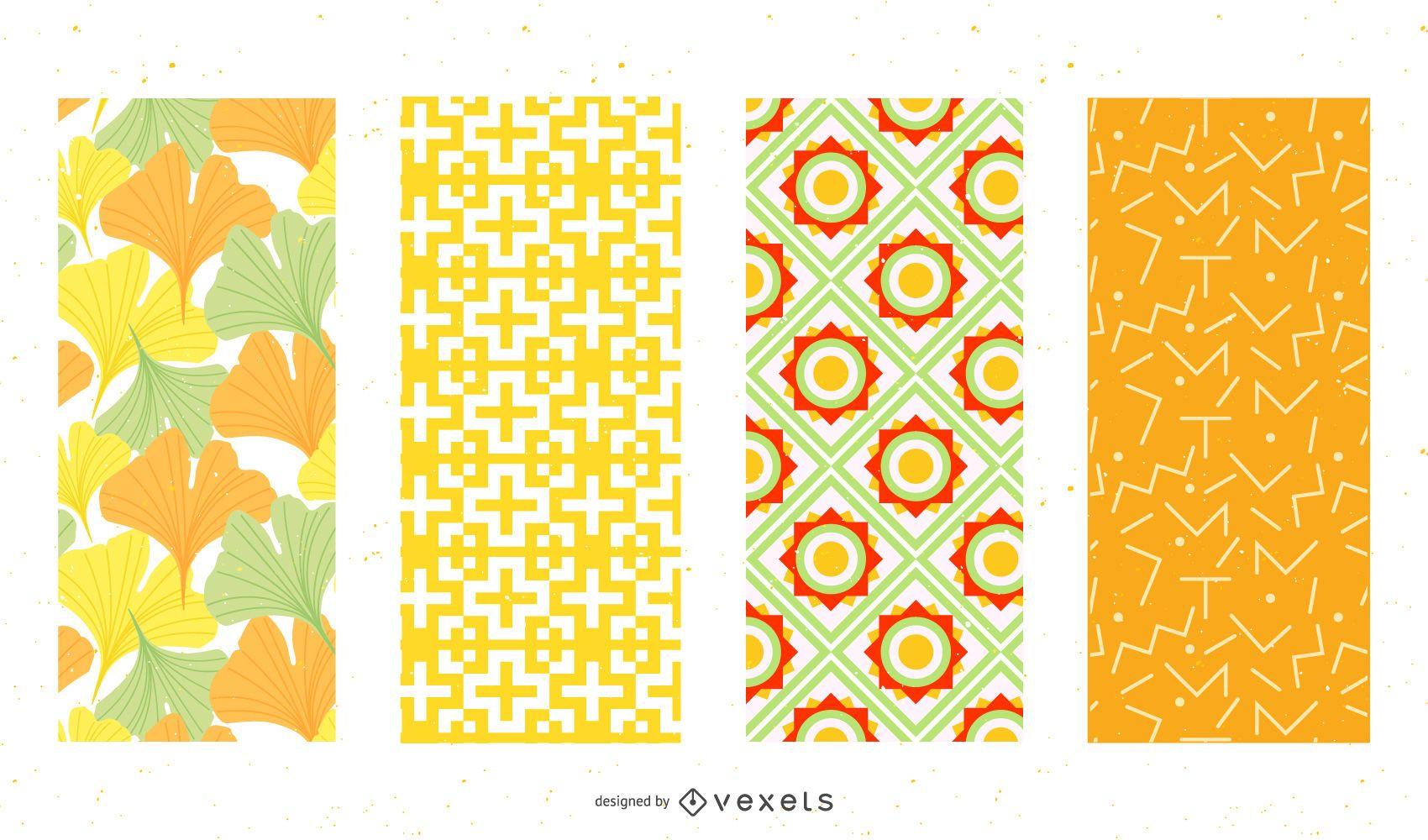 Free Vector Patterns Set 03