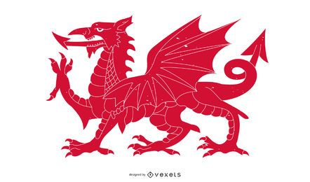 Walisischer Drache