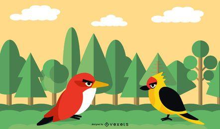 Vector libre dibujo Angry Birds