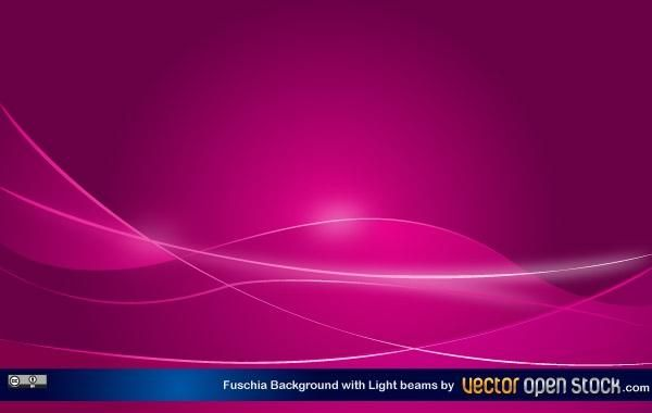 Fucshia Background with light beams
