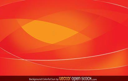 Bunter Sun-Hintergrund