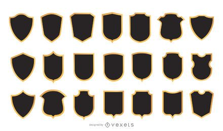Vector escudo