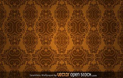 Papel de parede sem costura em tons sépia