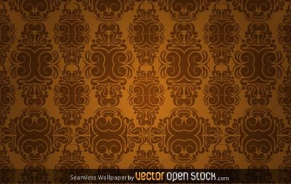 Seamless Wallpaper in sepia tones
