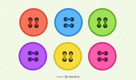 Conjunto de botones