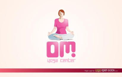 Logotipo de yoga