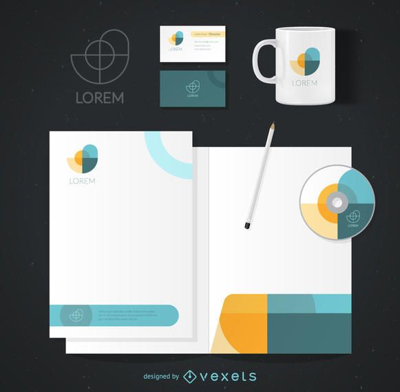 Corporate identity template vector download corporate identity template maxwellsz
