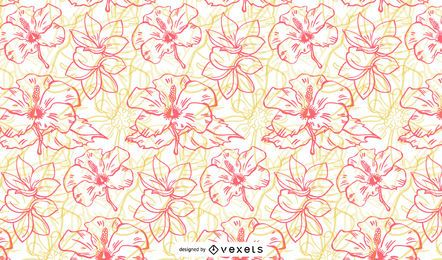 Vivid tropical patterns vector