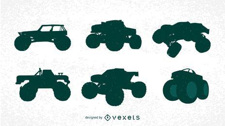 Grátis Bigfoot Cars Silhuetas