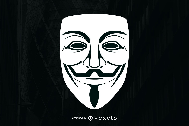 Máscara anónima
