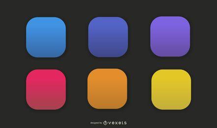 App Vector Icons Set