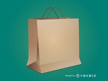 Bolsa de compras del vector