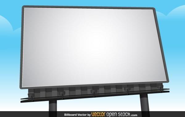 Billboard Vector Mockup