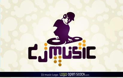 Logotipo da DJ Music