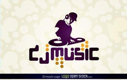 Logotipo da DJ Music