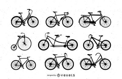 Vector Art: Bicicletas