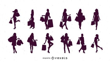 Silhouette Shopping Women