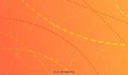 Desenho de fundo de linhas tracejadas