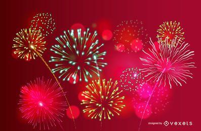 Feuerwerk eingestellt