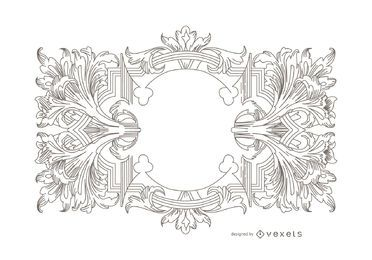 Heraldry Vector ornament