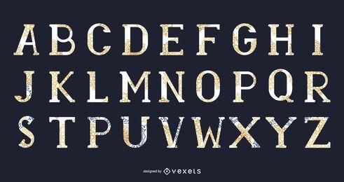 13 Tipografía vectorial abstracta: McDonald