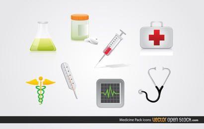 Pacote de ícones de medicina
