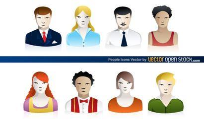 Iconos de personas