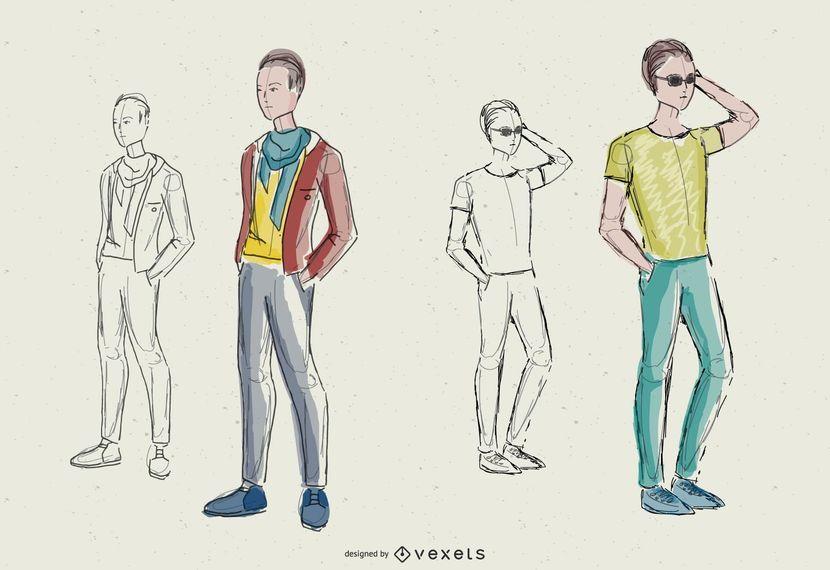 Design de Moda Masculina