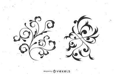 Vector de florecer