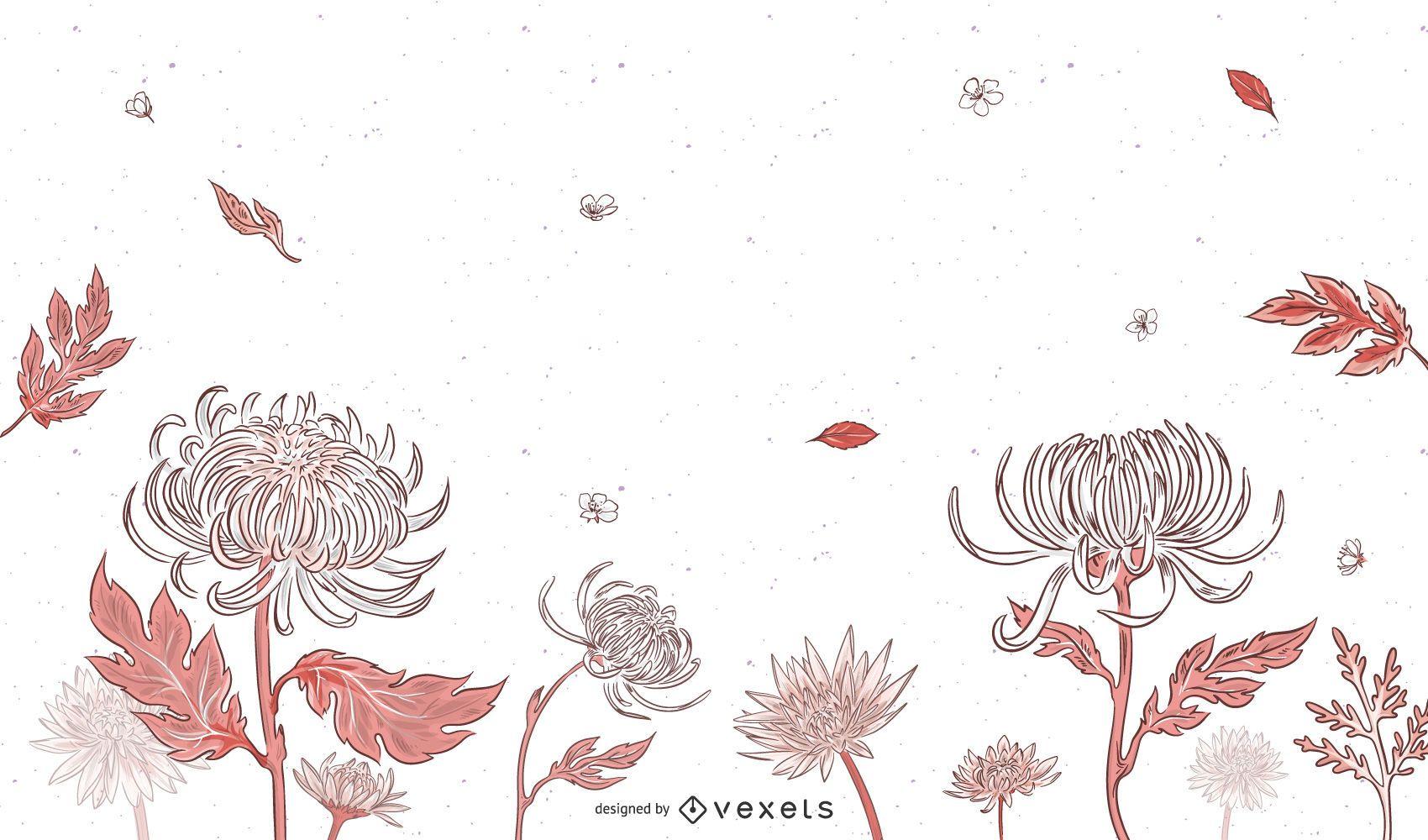 Delicate Spring Botanical Vectors