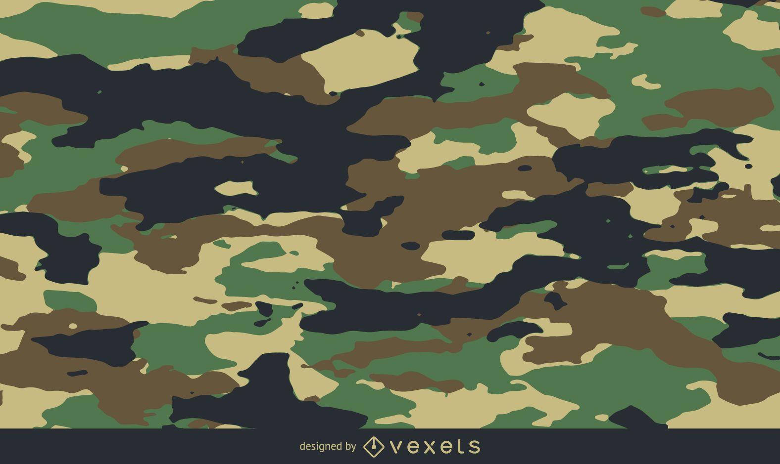 Vector patrón de camuflaje