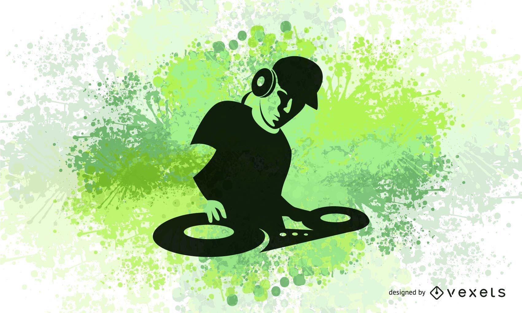 Diseño de DJ Electric Colors