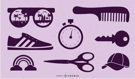 VECTOR diversos objetos