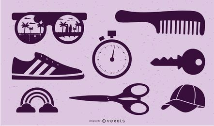 VECTOR verschiedene Objekte