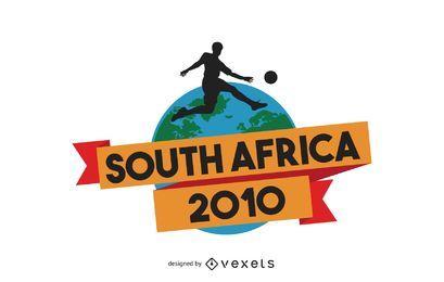 Vetor de papel de parede da copa do mundo da áfrica do sul 2010