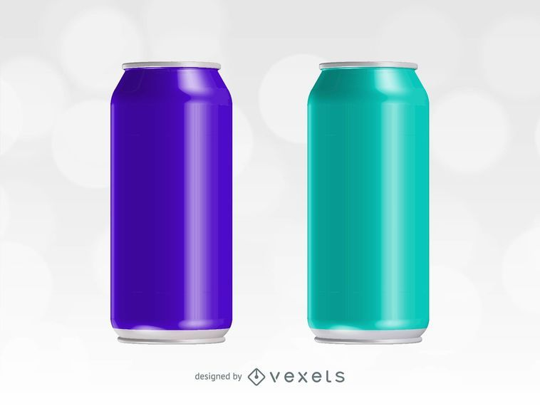 Energy Drink Vector Can