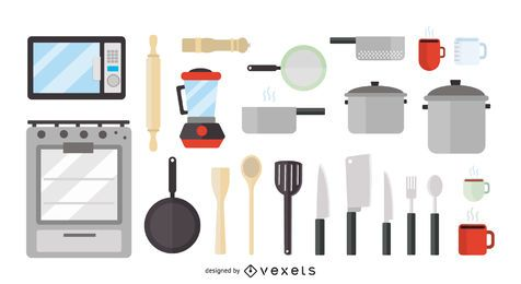 Paquete de iconos de cocina