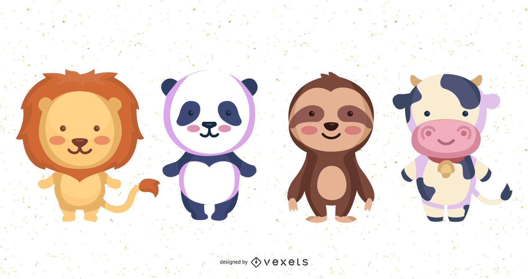 Feed Me Animals: un conjunto de iconos de alimentación RSS gratuito