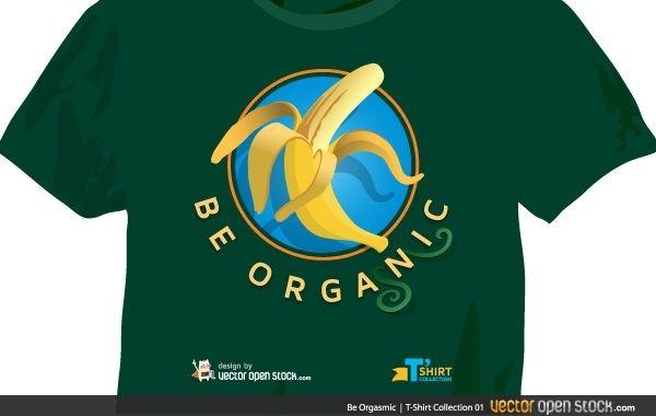Camiseta Be Orgasmic (versão masculina)
