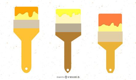 Paint Brush Vector Pack