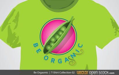 Camiseta Be Orgasmic (versão feminina)