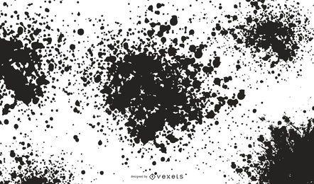 Vektor-flüssige Splats-Illustration