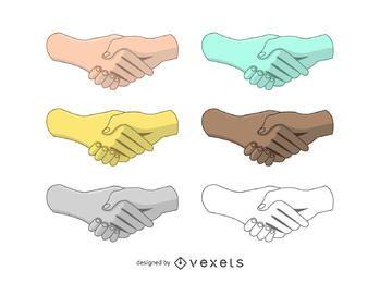 Handshake-Vektorsatz